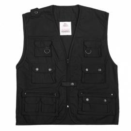 Reporter Vest - Black