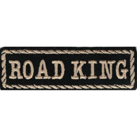 Golden  PATCH - STICK with Rope Design - Road King