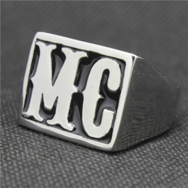 MC - Biker Ring - Stainless