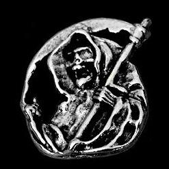 P143 - PIN - Grim Reaper (round)