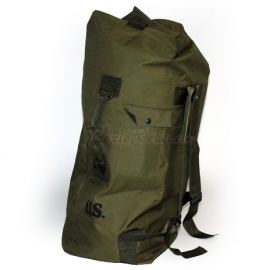 Army Green Duffle Bag / Backpack - 101 INC