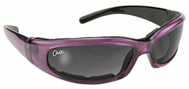 CHIX by KD's - RALLY - Padded Purple Frame & Grey Gradient Lens