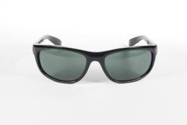 KICKSTART by KD's - Dirty Harry - Larger Sunglasses - Grey / Green Lens