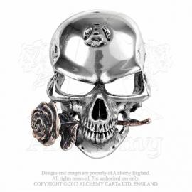 Alchemy England - BELT BUCKLE - The Alchemist Rex - Skull with Rose