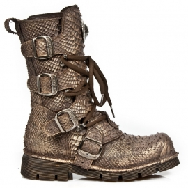 Copper Snake Nomads - New Rock - Rocker Boots - Air Soles