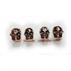 3-Fingerring with Skulls (fire)