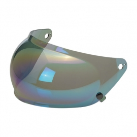 Biltwell INC - Gringo 'S' Visor BUBBLE - Rainbow Mirror