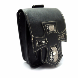 Hip Bag - Hip Pouch - Cruisaders - PU-leather - Snake