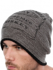 Jack Daniel's - Beanie - Grey & Black - Original Big Logo
