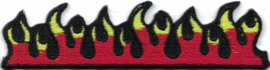 022 - PATCH - Flames - Rockabilly Fire - Tattoo