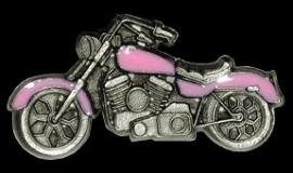 P148 - PIN - Pink Motorcycle