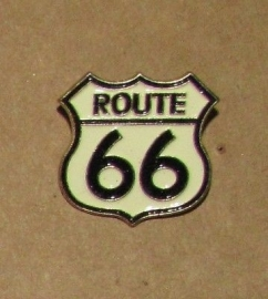 P202 - PIN - Route 66 - White Shield