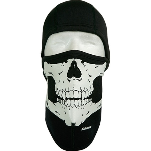 Schampa - Skull Ninja Balaclava   Head, Face- & NeckWear ...