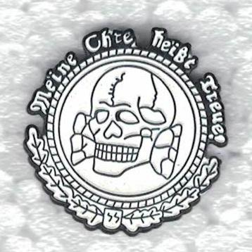 PIN - SS - Toxic Skull - Meine Ehre heibt Treue! | Pins