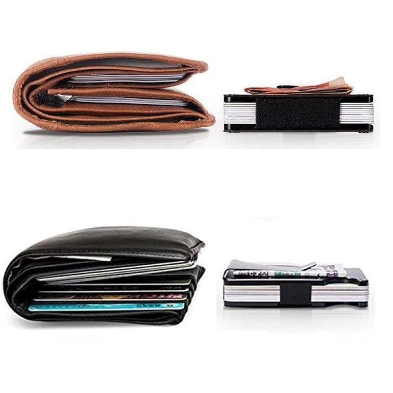 credit card holder rfid blocking black bags wallets. Black Bedroom Furniture Sets. Home Design Ideas