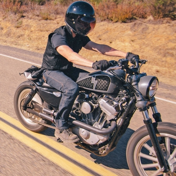 Full Face Cruiser Helmets >> Biltwell Inc Gringo Full Face Helmet Ece Glossy Black Chrome