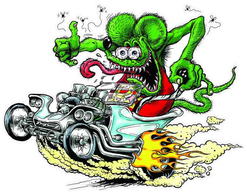 000 Backpatch Ratfink Big Daddy Roth Patches Roxie