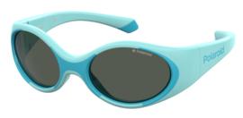 Polaroid® Onbreekbare Lichtgewicht Baby Kinderzonnebril 0 – 3 jaar Blue Eye Saver