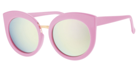 Kinderzonnebril 8 - 12 jaar Meisjes Tutorial Pink Mirror