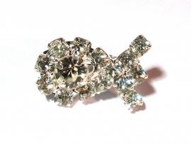 Broche Vis 'Diamant'