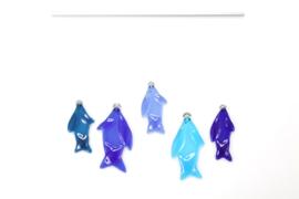 Raamhanger Visjes Blauw A