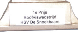 Vistrofee Bootvissen 18 cm Goud