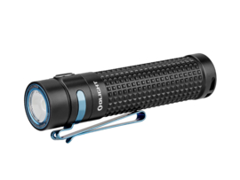 Olight S2R II Baton Black & Blue oplaadbare waterdichte zaklamp