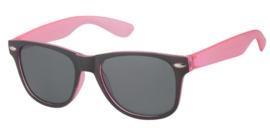 Kinderzonnebril 5 - 8 jaar Pink and Black Jongens & Meisjes