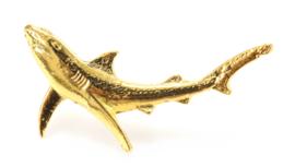 Visspeld Blauwe Haai Verguld
