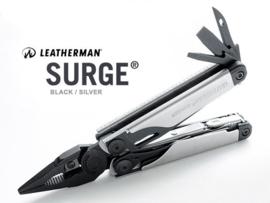 Leahterman Surge Multitool Black & Silver