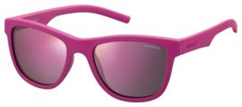 Polaroid® Onbreekbare Lichtgewicht Kinderzonnebril 3 – 8 jaar Power Pink