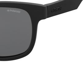 Polaroid® Onbreekbare Lichtgewicht Kinderzonnebril 8 - 12 jaar Black Boss