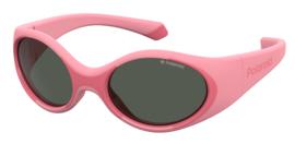 Polaroid® Onbreekbare Lichtgewicht Baby Kinderzonnebril 0 – 3 jaar Pink Eye Saver