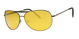 Night Vision Avond- & Nachtzonnebril auto zonnebril met gele lenzen