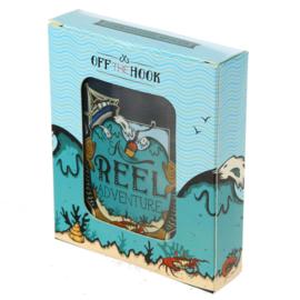 Drankflacon Vissen in Giftbox
