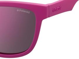 Polaroid® Onbreekbare Lichtgewicht Kinderzonnebril 4 - 8 jaar Pink Girl