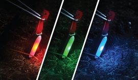 Lichtgevende Tentharingen Multicolor (2 stuks)