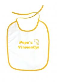 Babyslabbetje Papa's Vismaatje Geel
