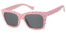 Kinderzonnebril 5 - 8 jaar Meisjes Love Pink