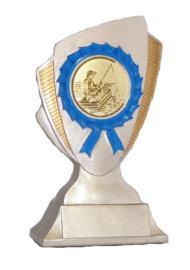 Vistrofee Bootvissen 15 cm Goud