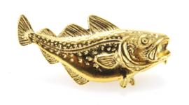 Visspeld Kabeljauw Verguld