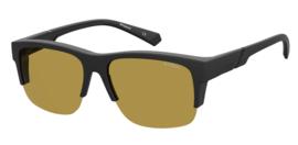 Polaroid®  Night Hawk Overzet Zonnebril Gele Lenzen Nachtbril