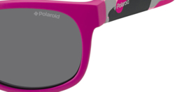 Polaroid® Onbreekbare Lichtgewicht Kinderzonnebril 0 - 4 jaar Camou Roze