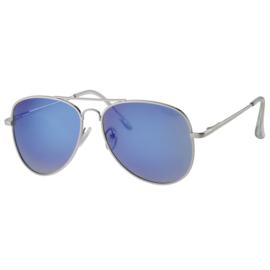 Polariserende Pilotenzonnebril Blue Colour Metal Pilot
