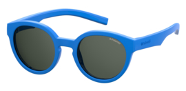 Polaroid® Onbreekbare Lichtgewicht Kinderzonnebril 4 - 8 jaar Brainy Blue