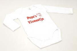 Babyrompertje Papa`s Vismaatje (lange mouwen)