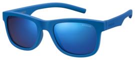 Polaroid® Onbreekbare Lichtgewicht Kinderzonnebril 7 - 12 jaar Blue Power
