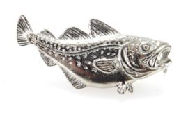 Visspeld Kabeljauw Verzilverd