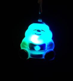 20 x Lichtgevende LED Kerstman Ketting