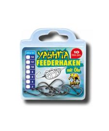 10 x Feederhaken met oog maat 10 – feeder haken voor feedermontage